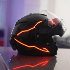 Motorcycle Helmet Design, Motorcycle Gear, Custom Sport Bikes, Custom Motorcycle Helmets, Custom Helmets, Motorcycle Jackets, Helmet Light, Cool Motorcycles, Sportbike Motorcycles
