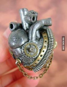 The Tin Man's heart