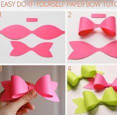 Natalie 811natalie on pinterest diy paper bow diy crafts craft ideas diy ideas diy crafts crafty easy diy easy craft diy bow craft bow by mavrica solutioingenieria Image collections