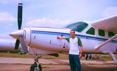 The very first Caravan I ever flew back 2009! Thank you for the great initial instruction Eddy!