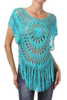 Turquoise Cowgirl Fringe