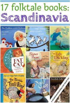 A picture book list of Scandinavian folk tales for kids including Norwegian myths, Swedish folklore and legends from the Norse countries and traditions.