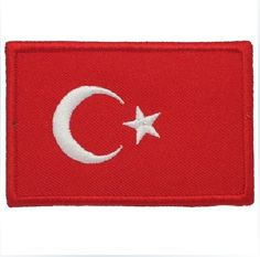 Airsoft Velcro Patch Turkey Flag
