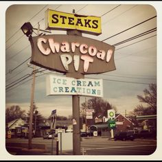 Charcoal Pit restaurant. Yummy!