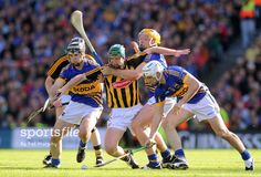 Another one of our favorite action shots of Kilkenny vs. Shots, Action, Tips, Group Action