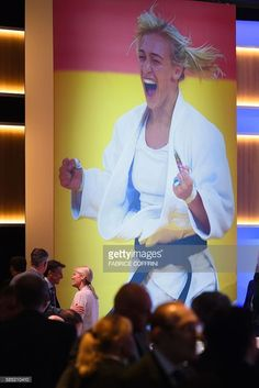(IOC) delegates meet beneath giant photograph of a judo match during the 129th International Olympic Committee session, in Rio de Janeiro on August 2, 2016, ahead of the Rio 2016 Olympic Games. International Olympic Committee chief Thomas Bach on Tuesday demanded a sweeping overhaul of the World Anti-Doping Agency (WADA) on Tuesday as Russian appeals against bans mounted just three days from the opening of the Rio Games.