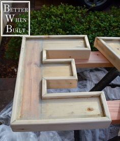 Plans of Woodworking Diy Projects - make large wood letters out of 2x4 and furring strips, crafts, decoupage, diy, how to, woodworking projects Get A Lifetime Of Project Ideas & Inspiration!