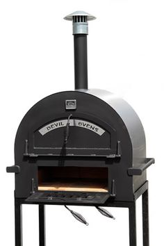 Barbecues Garden & Patio Energetic Brick Outdoor Wood Fired Pizza Oven 100cm Terracotta Supreme Model Chimney Mount