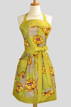 amy butler lotus apron