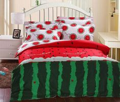 Watermelon Cotton Cartoon Bedding set