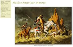 Native American Heroes The first American heroes were the heroes of Native American legends, like Shining Star and the brothers Thunder and Lightning. Learn about their stories here.  LINK: https://sites.google.com/site/storybooknativeheroes/home