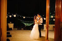 Merritt Mansion, Pasadena   Tracy Dodson Photography #wedding #reception #firstdance #stringlighting #bistrolighting #lantern #canopy #eventlighting #weddinglighting