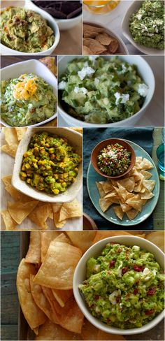 Game Day Guac Recipes for your Super Bowl part-tay!