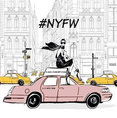 As fashion month kicks off with #NYFW check into #NDUOCONCEPT what's trending now