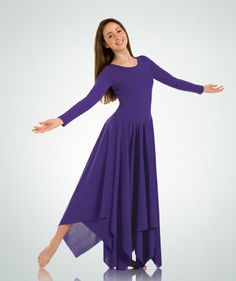 Most costumes for CW is very conservative (and rightfully so), with long sleeves and skirting lengths as well as modest necklines.   Google Image Result for http://www.liturgicaldancewear.org/wp-content/uploads/2011/04/praise-dance-garments-2.jpg