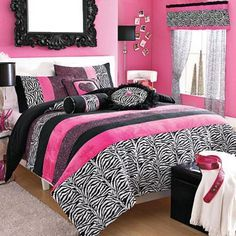 Bed Sheets, Cheetah and Zebra print? Yes pleaaaase :) -My stuff®/MD 'Natasha' Bedroom Coordinates