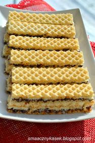 Wafel kokosowy Cake Recipes, Dessert Recipes, Polish Recipes, Polish Food, Different Cakes, Sweets Cake, How Sweet Eats, Easy Cooking, No Bake Desserts