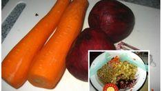 Super zdravý šalát, ktorý vás zoštíhli: Môžete jesť do prasknutia a aj tak nepriberiete, dajte si ho na večeru a kilá idú dole! Cooking Light, Eggplant, Carrots, Food And Drink, Health Fitness, Low Carb, Healthy Recipes, Vegetables, Cha Cha