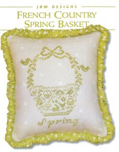 French Country Spring Basket by JBW Designs