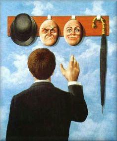 by René Magritte [Mouvement: Surrealism] Art And Illustration, Arte Inspo, Pop Art, Street Art, Surrealism Painting, Modern Surrealism, Surreal Art, Art Plastique, Oeuvre D'art