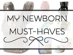 """Great post by Vanessa sharing, """"My Newborn Must-Haves."""" Thanks for the shout-out to FSAstore.com, too!"""
