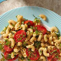 Elbow mac salad.  It would be good with chicken or shrimp added.