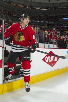 Patrick Kane. #Warmups #Playoffs