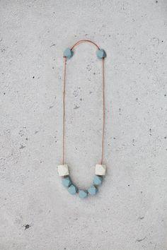 Geometric Necklace by BlueBirdLab