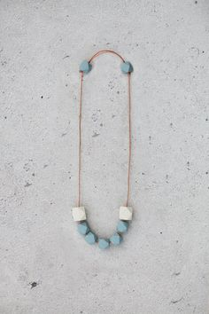 Geometric Necklace by BlueBirdLab