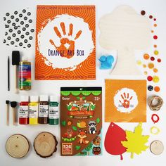 Every Orange Art box is designed with a feature project and multiple smaller projects for hours of fun! Diy Crafts For Kids, Gifts For Kids, Arts And Crafts, Subscription Boxes For Kids, Orange Art, Unique Christmas Gifts, Bottle Painting, Box Art, Mosaic Art