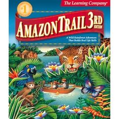 Amazon Trail 3rd Edition: Rainforest Adventures. This really brings me back...