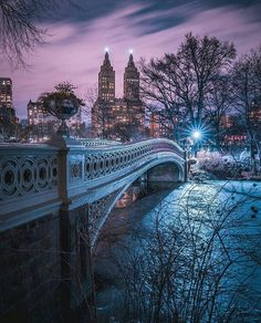 Central Park at night by @212sid by newyorkcityfeelings.com - The Best Photos and Videos of New York City including the Statue of Liberty Brooklyn Bridge Central Park Empire State Building Chrysler Building and other popular New York places and attractions.