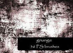200  Free Grunge Photoshop Brushes