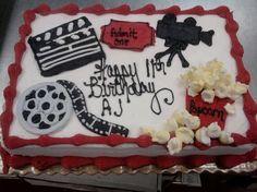 Movie Themed Cakes Movie Themed Birthday Cake  Birthday Cakes - Movie themed birthday cake
