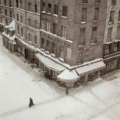 Paris , hiver 1954 - Robert Doisneau