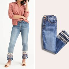 Calling all petite ladies—get ready to break up with your tailor! We have the petite girl's guide to denim, from finding your perfect inseam, wash and silhouette. Then, just tell your Stylist what you're looking for & we'll handle the rest.