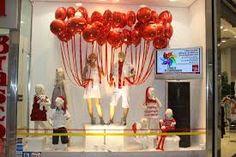 decoração de natal para fachada de loja - Pesquisa Google