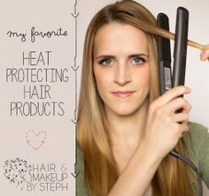 Hair and Make-up by Steph: Best Heat Protecting Products Best Hair Straightener, Love Your Hair, Pretty Hairstyles, Fashion Hairstyles, Hairstyles Haircuts, Protective Hairstyles, Up Girl, Hair Day, Gorgeous Hair