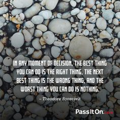 #rightchoices #passiton