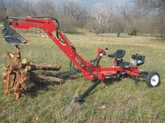 Downloadable plans will be emailed to you immediately  You may choose to have the bucket attached as shown or mounted in a more traditional configuration.  The Portable backhoe is a small freestanding, fully functional backhoe. It is designed for light duty digging oftrenches and holes and light duty uprooting of small shrubs and trees. It would be a valuable asset to anylandscaper, plumber, electrician or homeowner.  While quite powerful for its size, please do not attempt to push this…