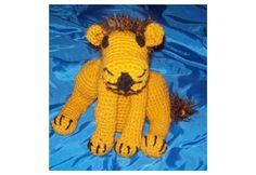 Lion Large Amigurumi Stuffed Animal   Leo Toy by amydscrochet
