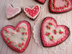 Valentines Heart Cookies Recipe - Ingredients and Preparation