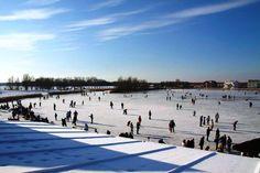 schaatsen bij Villa Westend
