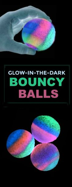 Glow in the dark bouncy balls Fun Projects For Kids, Easy Crafts For Kids, Summer Crafts, Fun Crafts, Art For Kids, Diy Projects, Door Crafts, Summer Fun, Summer Time