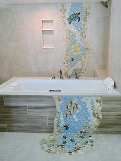 Decorative Ceramic Tile Hand Made Pond Tiles For Custom Ceramic - Custom ceramic tiles maker