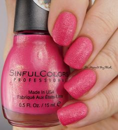 (Texture) Sinful Colors Pink Velvet -Kandee Johnson