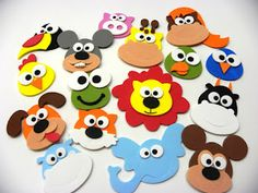 Cool Paper Crafts, Foam Crafts, Preschool Crafts, Art Drawings For Kids, Drawing For Kids, Craft Projects For Kids, Diy For Kids, Farm Theme Crafts, Safari Animal Crafts