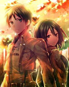 Eren Jaeger x Mikasa Ackerman (Eremika) || Shingeki no Kyojin / Attack on Titan