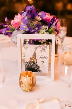 Traditional Westchester Wedding at the Ritz Carlton Wedding Themes, Wedding Events, Wedding Decorations, Table Decorations, Wedding Ideas, Paris Themed Weddings, Wedding Ceremonies, Decor Wedding, Wedding Inspiration