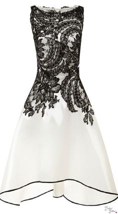 Naeem Khan - lovely evening dress when things need not be quite so formal. Would make a great dress to wear to a wedding.